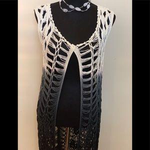 NWT Buckle Cardigan Vest